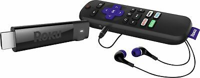 Roku - Streaming Stick+ 4K Headphone Edition with Voice Remote with TV Power ...