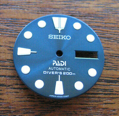 BLUE PADI Dial made for SEIKO 7S26-0020 DIVER New