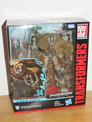 TRANSFORMERS STUDIO SERIES LEADER #34 MEGATRON #35 JETFIRE ACTION FIGURE SET