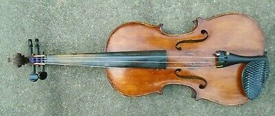 antique full size unmarked violin playable