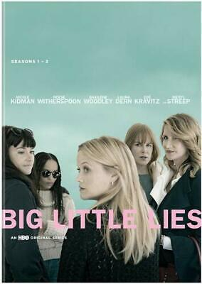 BIG LITTLE LIES 1-2 (2017-2019) HBO Dark Comedy MiniSeries Season US Rg1 DVD sp