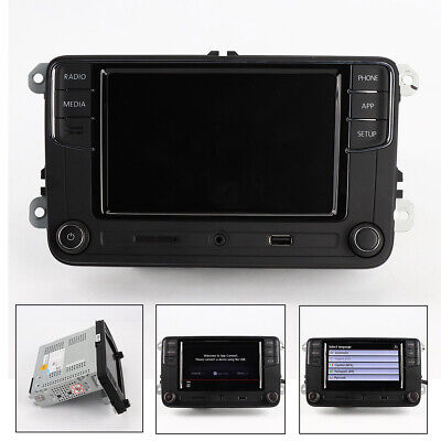 Original Noname Android Auto CarPlay New RCD330 Plus Stereo 6RD 035 187 B For VW