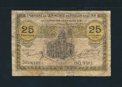 1917 France Chambre De Commerce De Marseille 050 Centimes