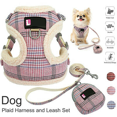 Pet Adjustable Harness Dog Puppy Bunty Soft Comfortable Mesh Breathable Fabric