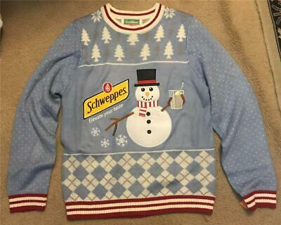 Festified Schwppes Sweater New Without Tags Size Men's XL Free Shipping