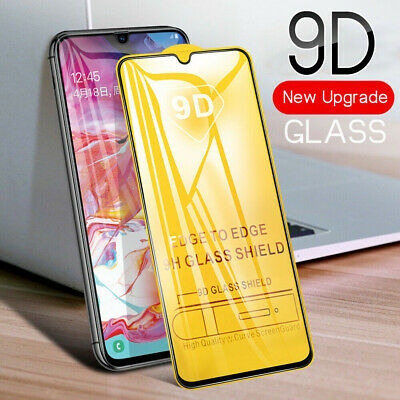 For Samsung Galaxy A51 A71 A10 A20e A40 A50 Full Cover Tempered Glass Protector