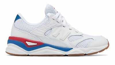 New Balance Kid's X-90R Big Kids Male Shoes White with Red