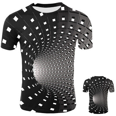 Fancy Hypnosis 3D T-Shirt Men Women Graphic Casual Fashion Short Sleeve Tee Tops