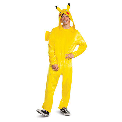 Adult Pikachu Deluxe Pokemon One Piece Costume