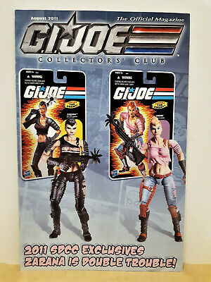 G.I. Joe Gijoe Collectors Club Official Magazine August 2011