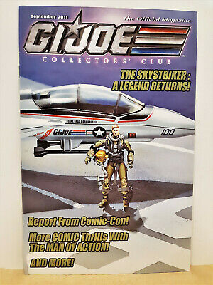 G.I. Joe Gijoe Collectors Club Official Magazine September 2011
