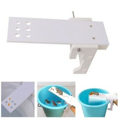 Mouse Trap Mice Cage Rat Control Auto Reset Rodent Bucket Board Mousetrap Hot