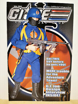 G.I. Joe Gijoe Collectors Club Official Magazine July 2012