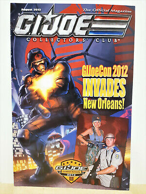 G.I. Joe Gijoe Collectors Club Official Magazine August 2012