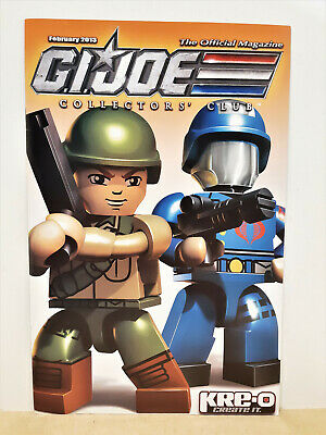 G.I. Joe Gijoe Collectors Club Official Magazine February 2013
