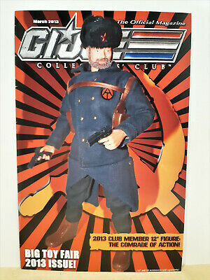 G.I. Joe Gijoe Collectors Club Official Magazine March 2013