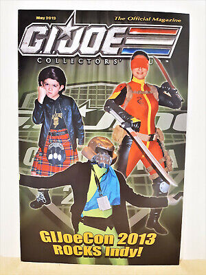 G.I. Joe Gijoe Collectors Club Official Magazine May 2013