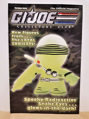 G.I. Joe Gijoe Collectors Club Official Magazine October 2013