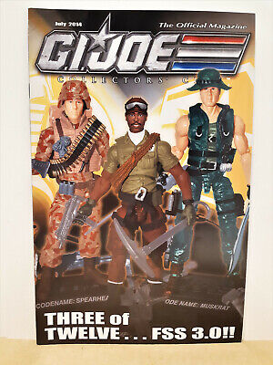 G.I. Joe Gijoe Collectors Club Official Magazine July 2014