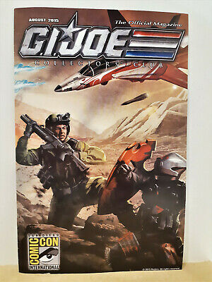 G.I. Joe Gijoe Collectors Club Official Magazine August 2015