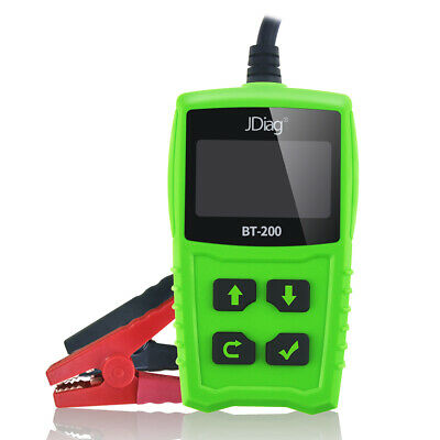 JDiag 12V Car Battery Tester Auto Cranking and Charging System Test Tool G8J5