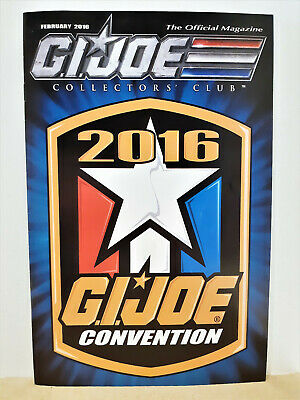 G.I. Joe Gijoe Collectors Club Official Magazine February 2016