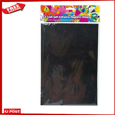 A4  Magnetic Sheet Self Adhesive magnets Craft