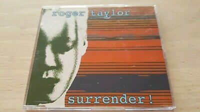 ROGER TAYLOR - CD Promo Single - SURRENDER - see details and photos