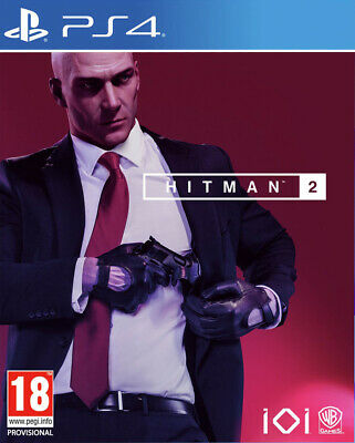 Hitman 2 (PS4)  BRAND NEW AND SEALED - IN STOCK - QUICK DISPATCH