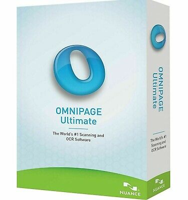 Nuance OmniPage Ultimate 19-OCR Scanning -Licence Key - Windows