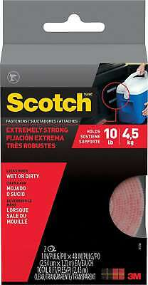 Scotch Extreme Fasteners, Clear, 1 x 4' RF6740