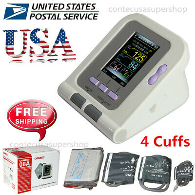 Fully Automatic Upper Arm Blood Pressure Monitor Neonatal/Infant/Child/Adult FDA