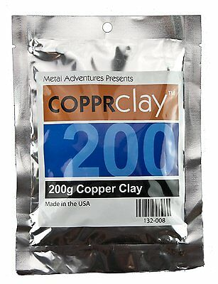 Copprclay - Copper Metal Clay - 200g Package
