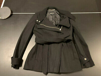 $228 SZ M SOLD OUT! Express Ladies NEW wool coat RET