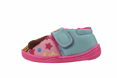 Official Licensed Hey Duggee Girls Low Top Slippers Pink Easy Fit Various Sizes