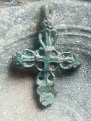 ANCIENT RARE CROSS Viking Kievan Rus 10-12 century AD