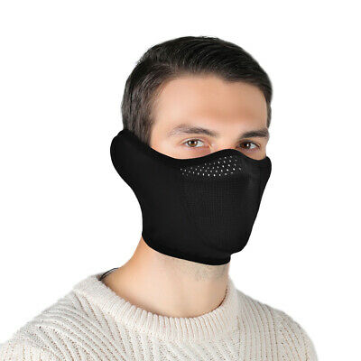 Outdoor Cycling Half Face Shield Motorcycle Mouth Cover Sports Ear Nose Warmer
