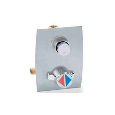 Mixer Recessed for Shower and Faucet Timed with Control