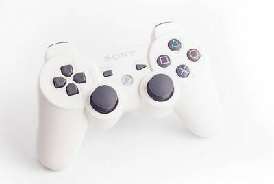 Official Original Genuine Sony Dual Shock 3 PS3 Wireless Controller Pad White