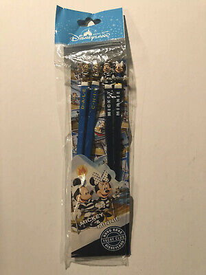 Hong Kong Disney Chopsticks Chop Sticks Mickey Minnie Chip Dale Never Used