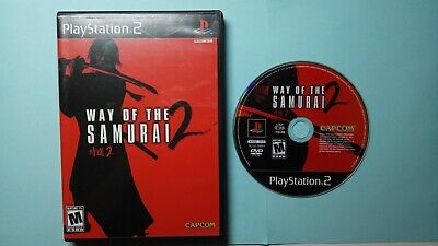 Way of the Samurai 2 (Sony PlayStation 2, 2004, PS2)