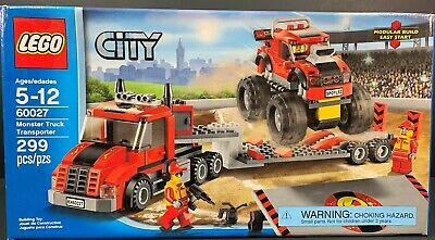 Lego City 60027 EMPTY BOX ONLY Monster Truck Transporter