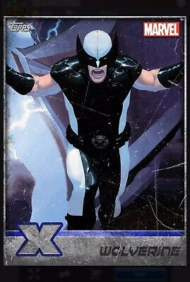 Topps Marvel Collect Wolverine X-Men Silver Overall Award Digital Card