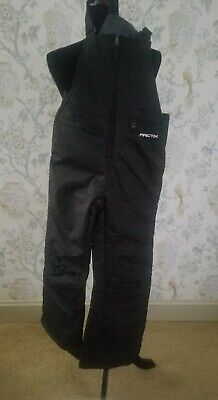 Arctix Youth Insulated Overalls Snow Bib Ski Snowboard Gear Winter, Youth Large