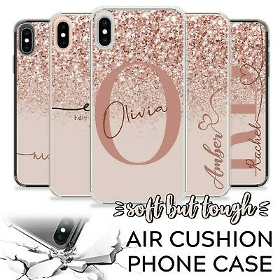 Personalised Initials Shockproof Case Name Cover For Apple Iphone Xr 6 7 8 11