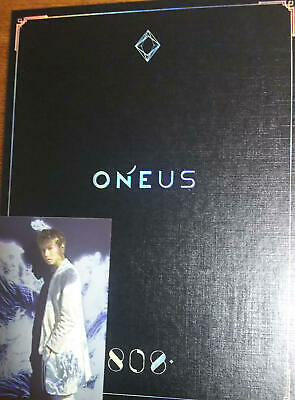 ONEUS 808 First Limited Edition CD DVD Photobook Keonhee Photocard Japan