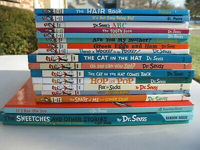 Lot 18 Dr Seuss + Bright Early Beginner Reader Books Nice Cnd All Hardcover