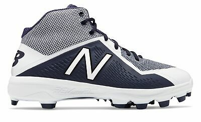 New Balance Mid-Cut 4040v4 TPU Baseball Cleat Mens Shoes Navy with White Size 16