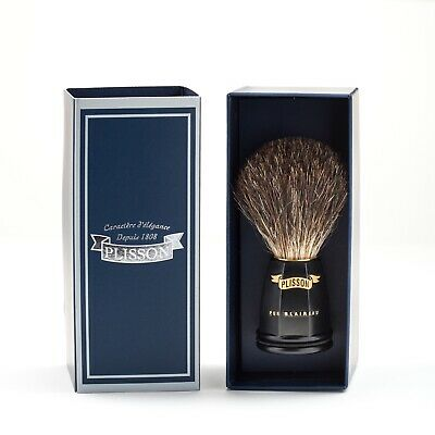 BLAIREAU 10CM - SHAVING BRUSH 3.93in - MADE IN FRANCE by PLISSON