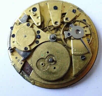 repater High grade pocket  WATCH MOVEMENT not works Unruhe ok(Z351)